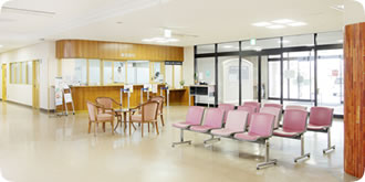 姫路北病院待合室