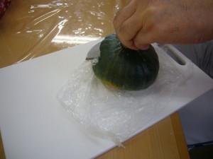園芸療法かぼちゃプリン270825 (7)