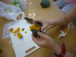 園芸療法かぼちゃプリン270825 (9)