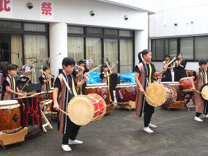 キッズダンス+和太鼓天魁(てんてけ)